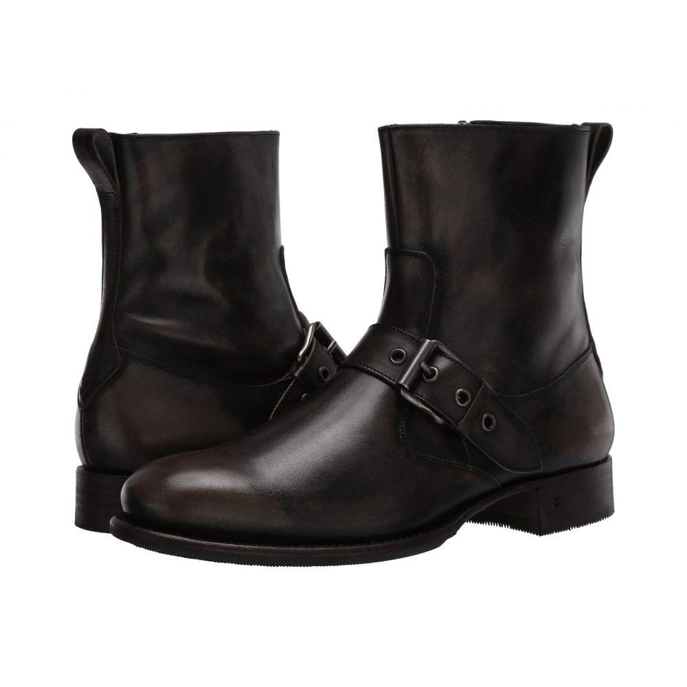 ジョン バルベイトス John Varvatos Collection メンズ ブーツ シューズ・靴【Essex Artisan Buckle Boot】Charcoal