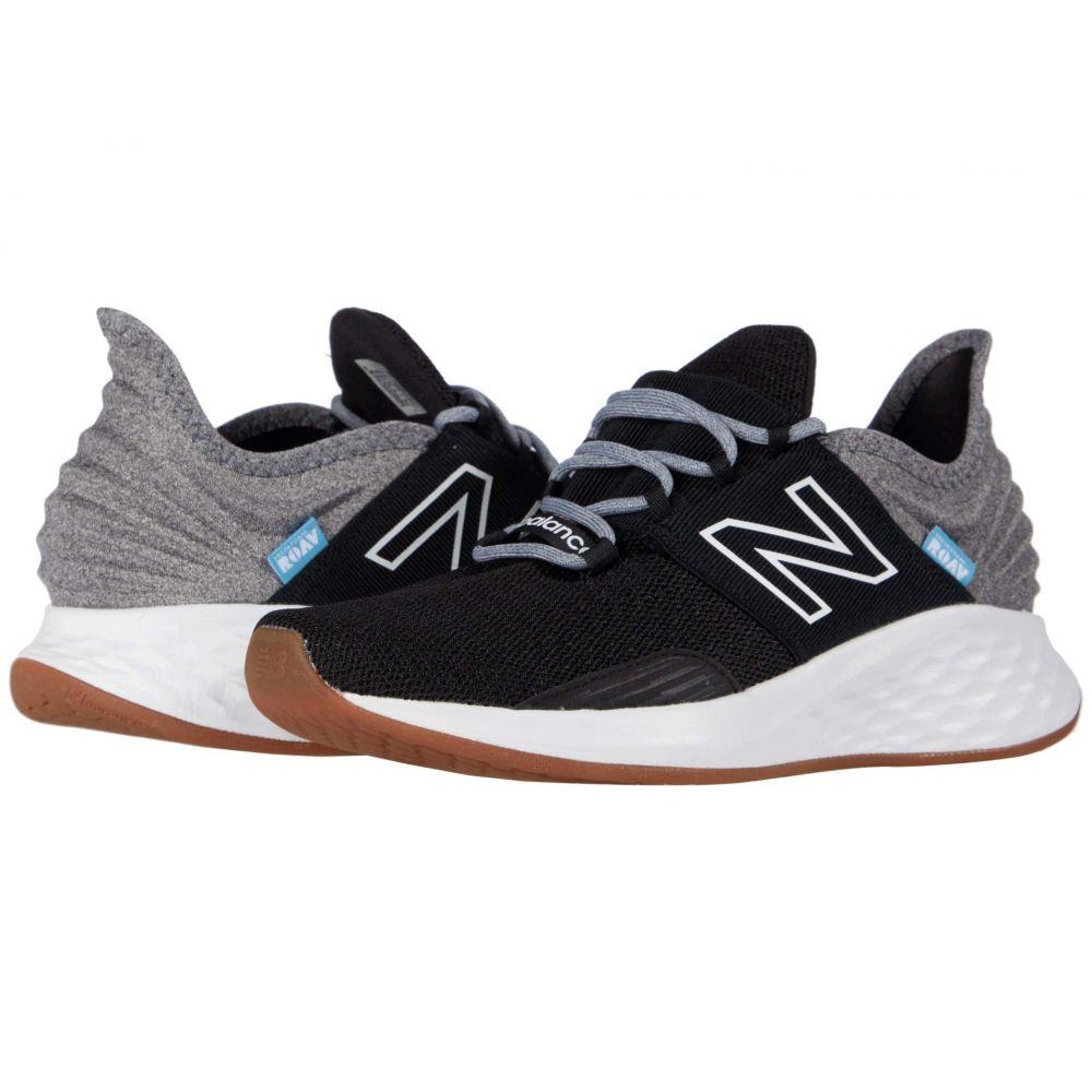 ニューバランス New Balance レディース ランニング・ウォーキング Tシャツ シューズ・靴【Fresh Foam Roav Tee Shirt】Black/Light Aluminum