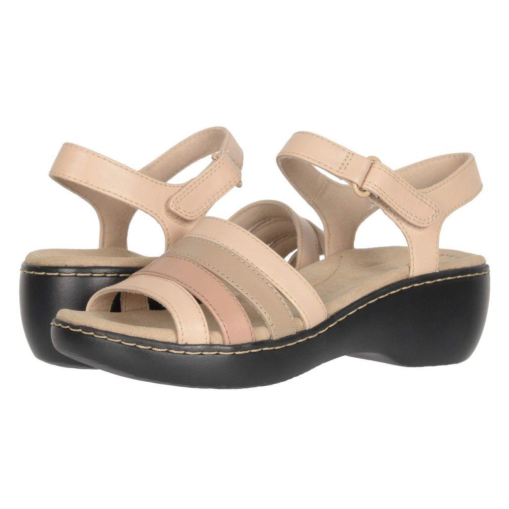 クラークス Clarks レディース サンダル・ミュール シューズ・靴【Delana Brenna】Blush Combi Leather