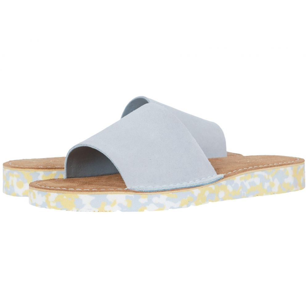 クラークス Clarks レディース サンダル・ミュール シューズ・靴【Lunan Slide】Light Blue Suede