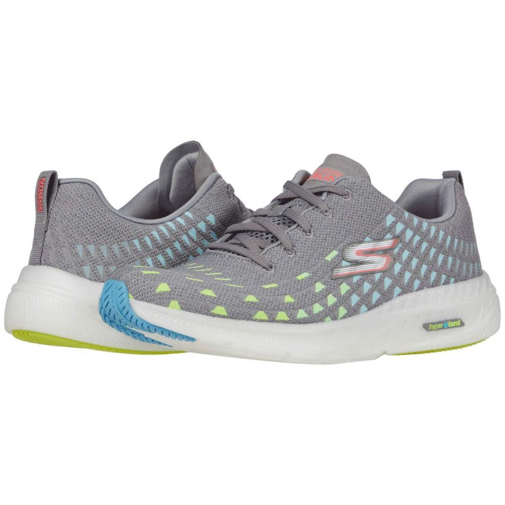 スケッチャーズ SKECHERS レディース ランニング・ウォーキング シューズ・靴【Go Run Smart】Gray/Multi