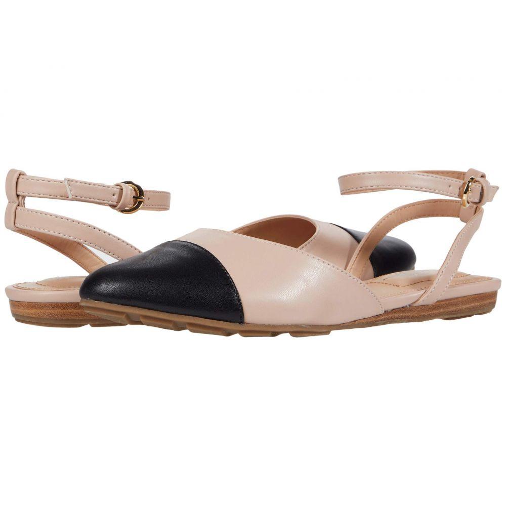 ミートゥー Me Too レディース スリッポン・フラット シューズ・靴【Antonia】Nude/Black Smooth