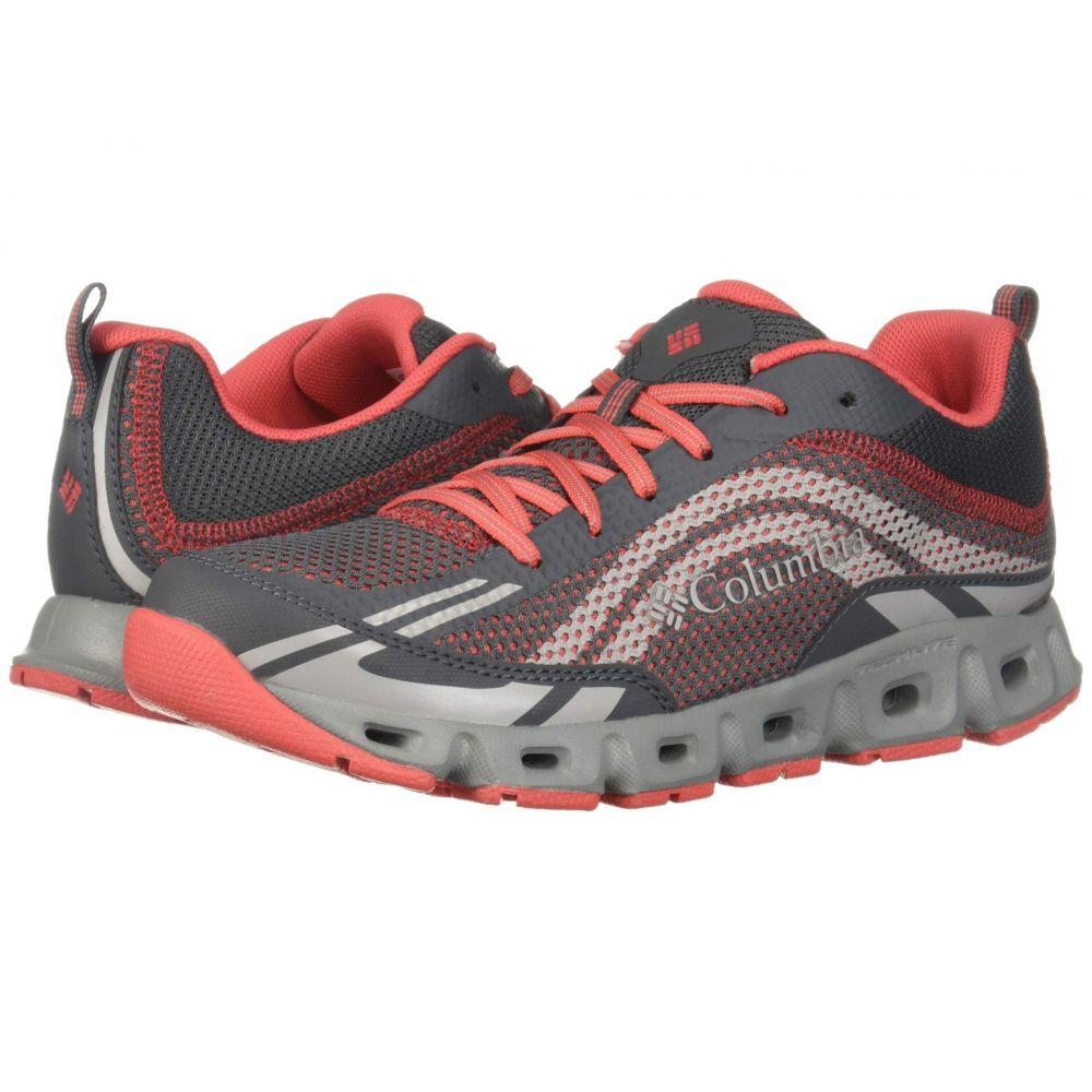 コロンビア Columbia レディース スニーカー シューズ・靴【Drainmaker IV】Graphite/Red Coral