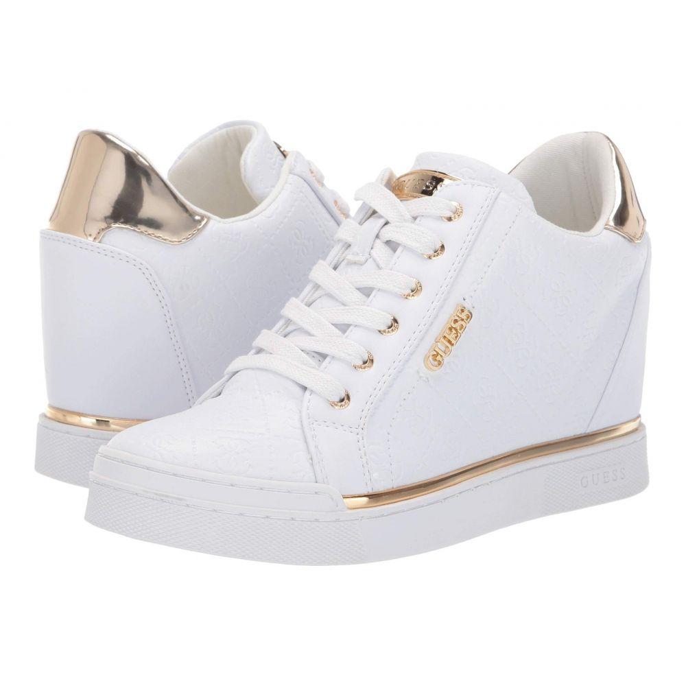ゲス GUESS レディース スニーカー シューズ・靴【Flowurs】White Synthetic