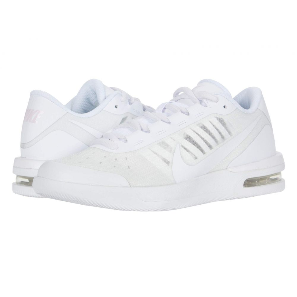 ナイキ Nike レディース スニーカー シューズ・靴【Court Air Max Vapor Wing MS】White/White/Pink Foam/Black
