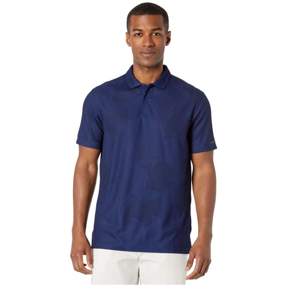 ナイキ Nike Golf メンズ ポロシャツ トップス【TW Dry Polo Camo Jacquard】Blue Void/Black