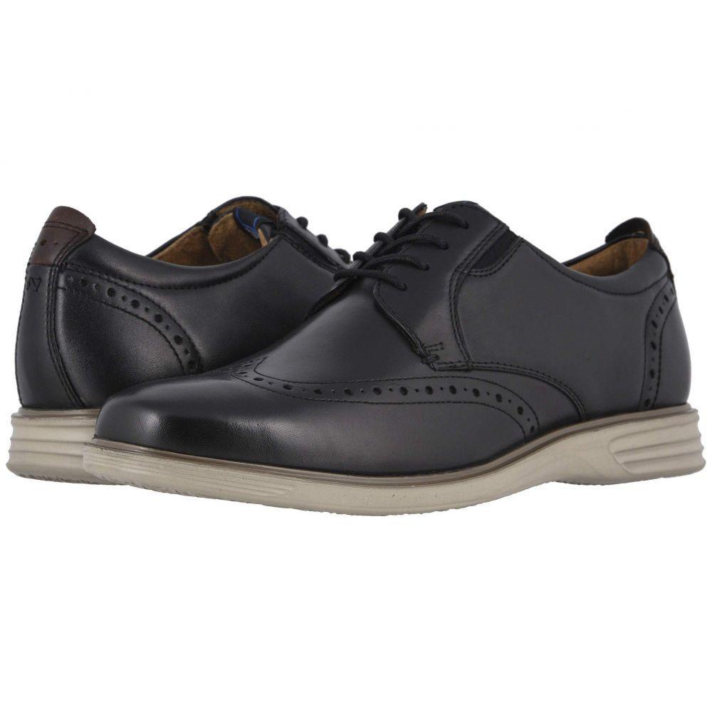ナンブッシュ Nunn Bush メンズ 革靴・ビジネスシューズ ウイングチップ シューズ・靴【New Haven Wing Tip Oxford】Black