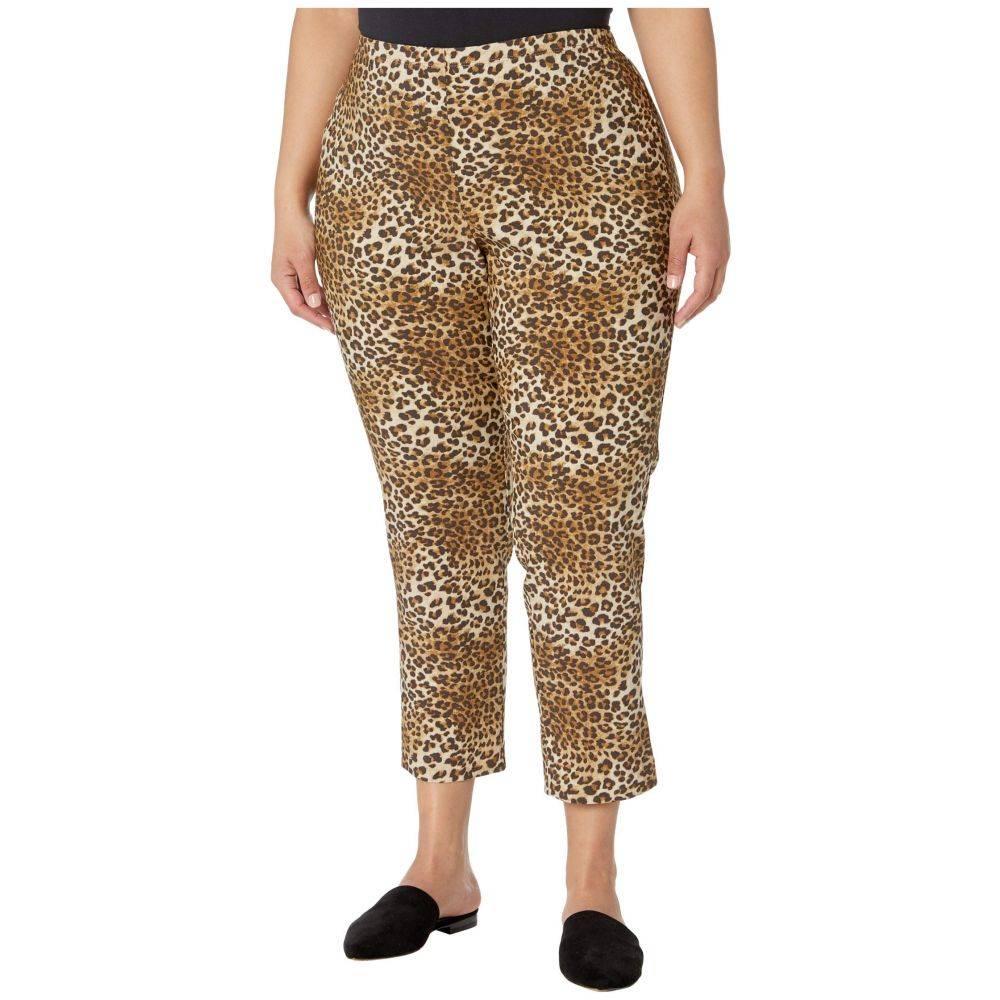 カレンケーン Karen Kane Plus レディース ボトムス・パンツ 大きいサイズ【Plus Size Piper Pants】Leopard