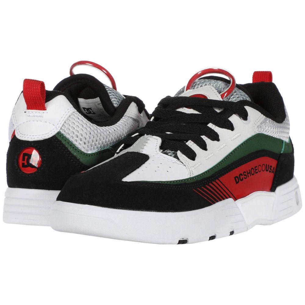 ディーシー DC メンズ スニーカー シューズ・靴【Legacy 98 Slim】White/Black/Green