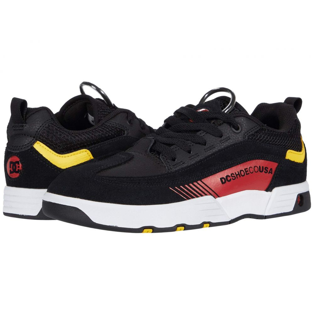 ディーシー DC メンズ スニーカー シューズ・靴【Legacy 98 Slim】Black/Athletic Red/White
