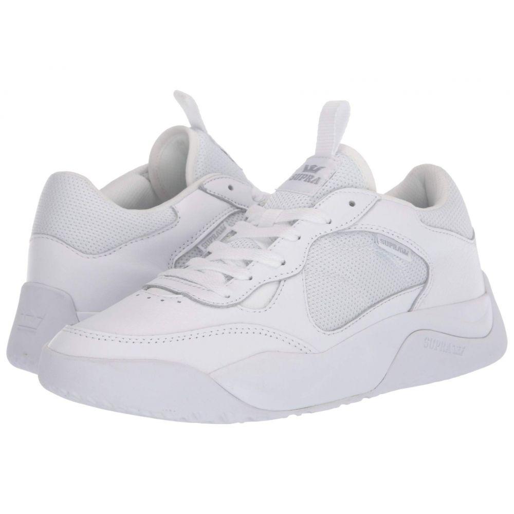 スープラ Supra メンズ スニーカー シューズ・靴【Pecos】White/White