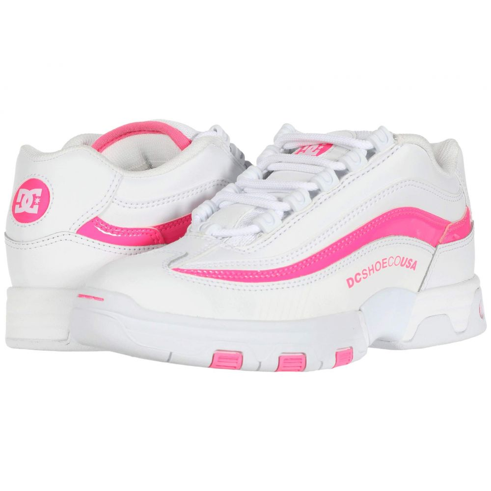 ディーシー DC レディース スニーカー シューズ・靴【Legacy Lite】White/Hot Pink