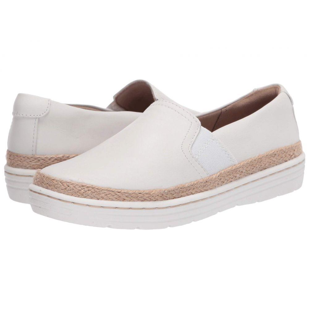 クラークス Clarks レディース スニーカー シューズ・靴【Marie Sail】White Leather