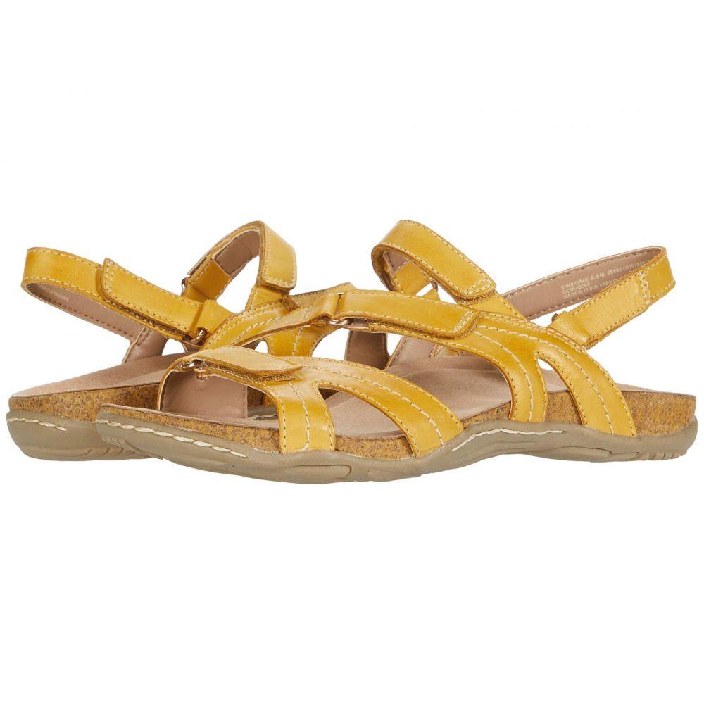 カルソーアースシューズ Earth レディース サンダル・ミュール シューズ・靴【Sand Oahu】Ocra Eco Calf