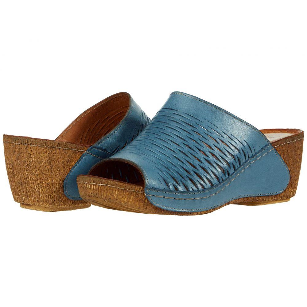 スプリングステップ Spring Step レディース サンダル・ミュール シューズ・靴【Cunacena】Blue