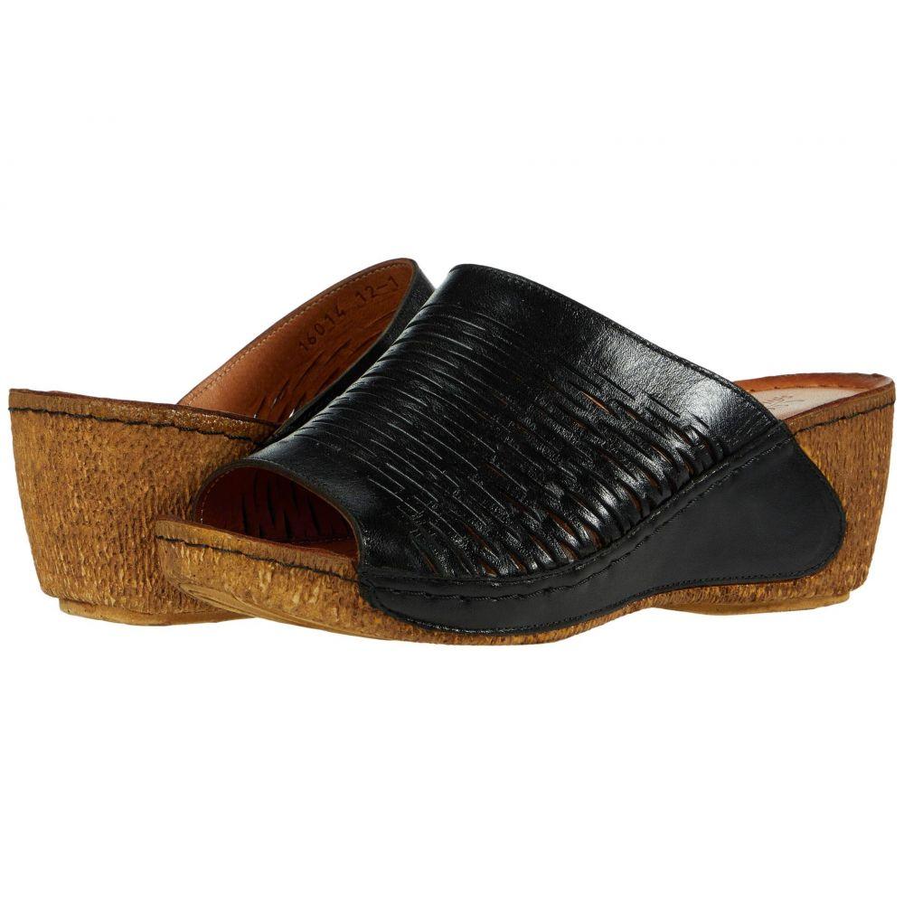 スプリングステップ Spring Step レディース サンダル・ミュール シューズ・靴【Cunacena】Black