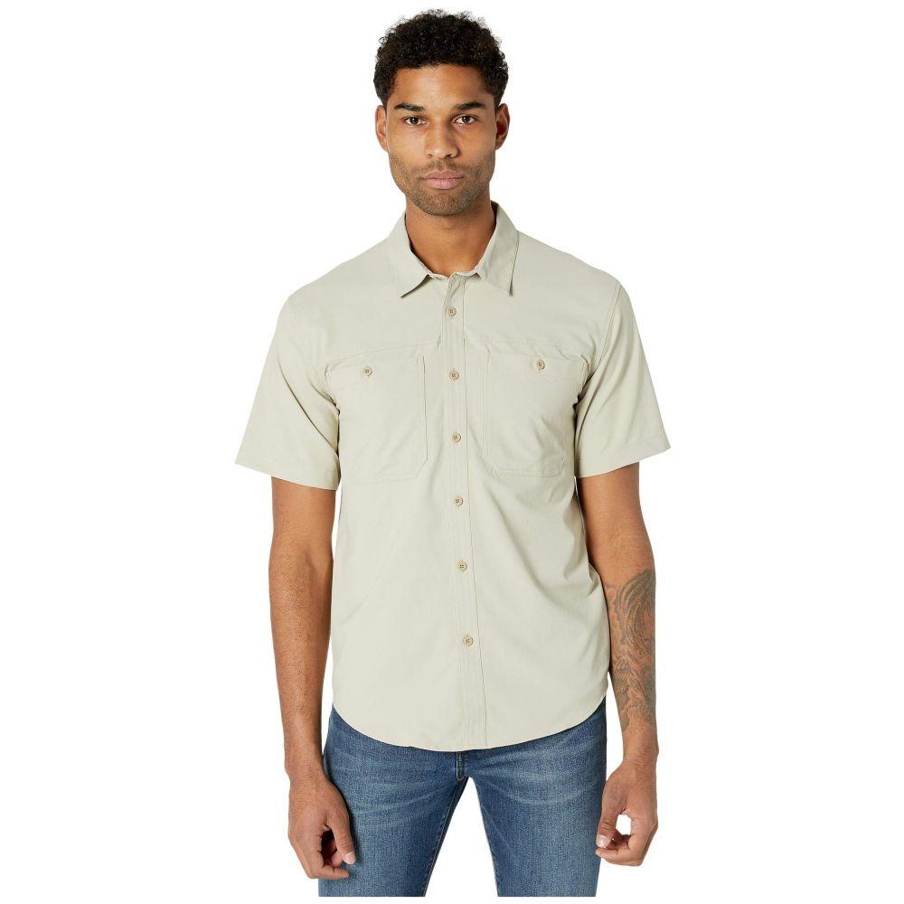 フィルソン Filson メンズ 半袖シャツ トップス【Ultralight Short Sleeve Shirt】Sandbar