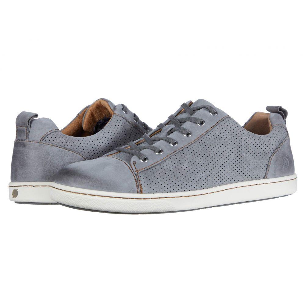 ボーン Born メンズ スニーカー シューズ・靴【Allegheny】Grey Perf Nubuck