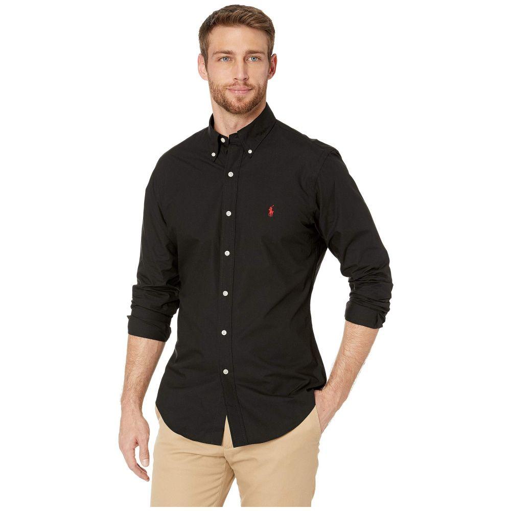 ラルフ ローレン Polo Ralph Lauren メンズ シャツ トップス【Slim Fit Poplin Stretch Sports Shirt】Polo Black