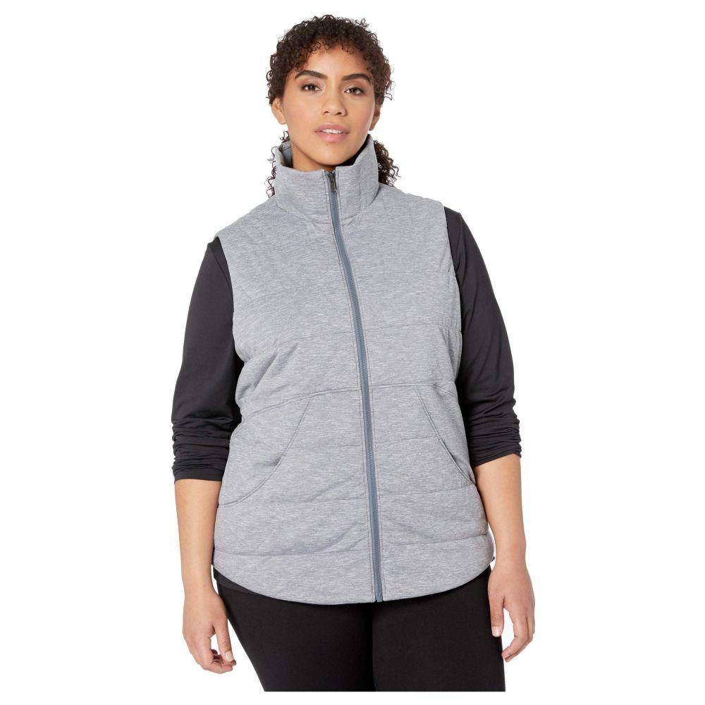 マーモット Marmot レディース ベスト・ジレ 大きいサイズ トップス【Plus Size Visita Insulated Vest】Steel Onyx Heather