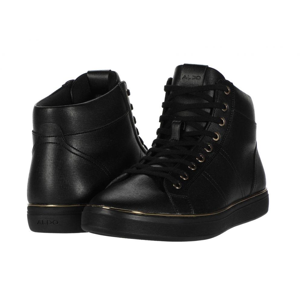アルド ALDO メンズ スニーカー シューズ・靴【Aiden】Black Embossed