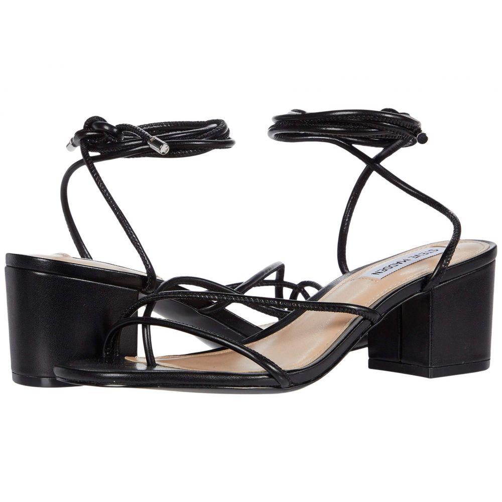 スティーブ マデン Steve Madden レディース サンダル・ミュール シューズ・靴【Impressed】Black
