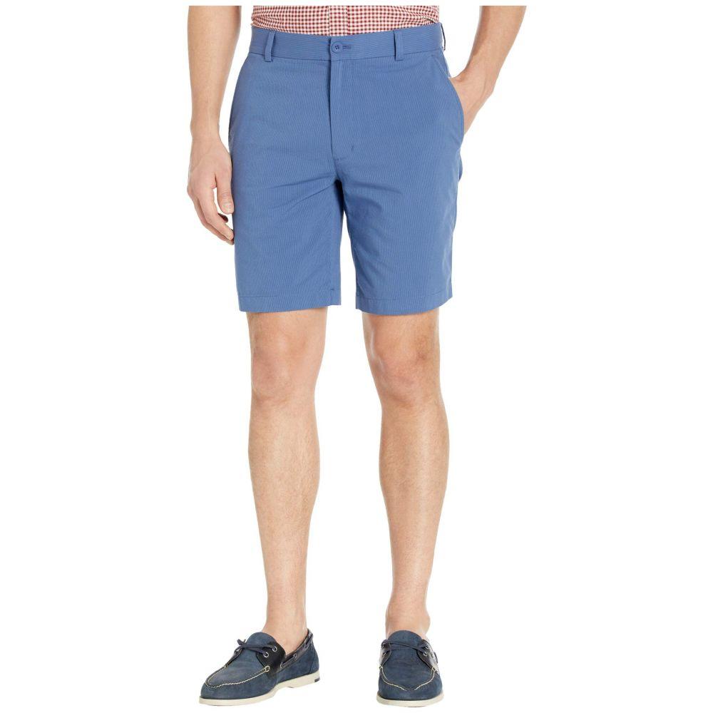 ヴィニヤードヴァインズ Vineyard Vines メンズ ショートパンツ ボトムス・パンツ【9' Seersucker Shorts】Moonshine/Flag Blue