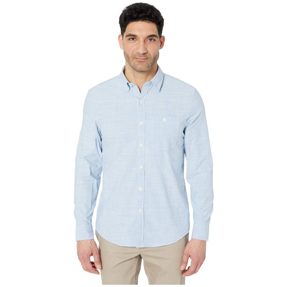 ヴィニヤードヴァインズ Vineyard Vines メンズ シャツ シャンブレーシャツ トップス【Slim Fit Chambray Longshore Button-Down Shirt】Coastline