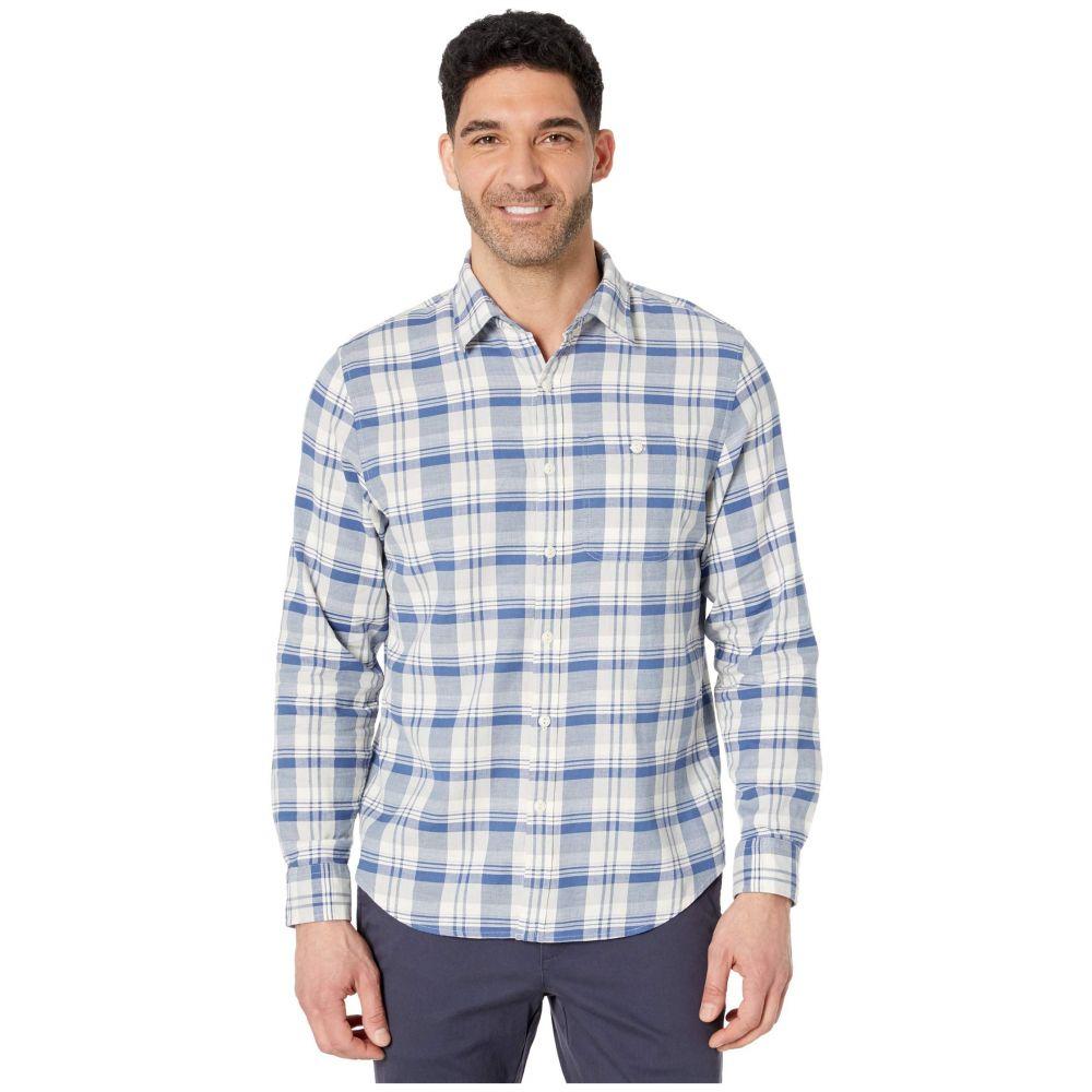 ヴィニヤードヴァインズ Vineyard Vines メンズ シャツ トップス【Slim Fit Tamarind Longshore Shirt】Moonshine