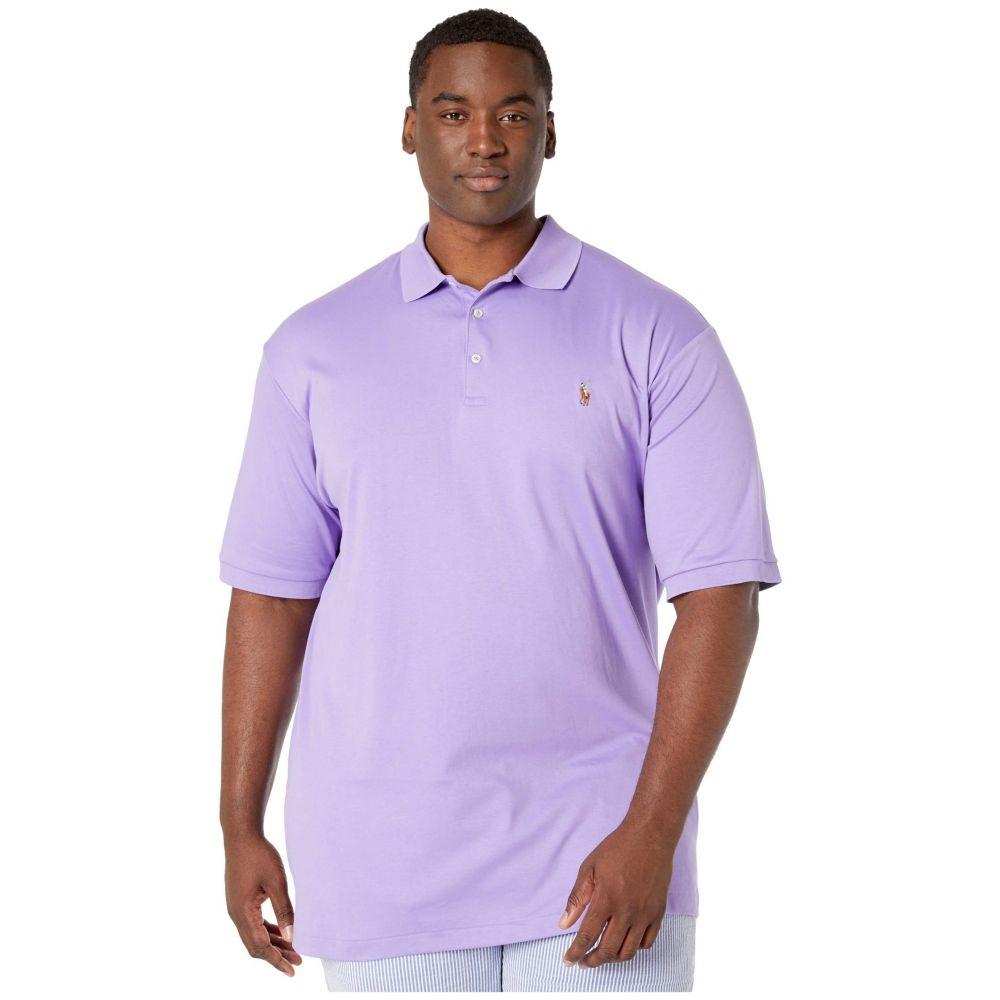 ラルフ ローレン Polo Ralph Lauren Big & Tall メンズ ポロシャツ 大きいサイズ 半袖 トップス【Big & Tall Short Sleeve Mesh Polo】Hampton Purple