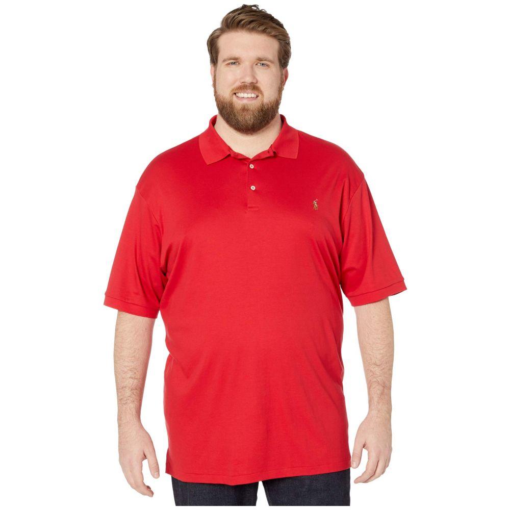 ラルフ ローレン Polo Ralph Lauren Big & Tall メンズ ポロシャツ 大きいサイズ 半袖 トップス【Big & Tall Short Sleeve Mesh Polo】RL Red