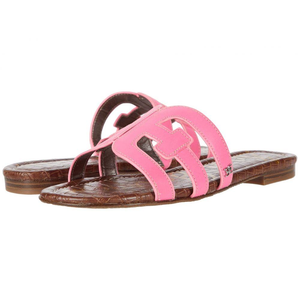 サム エデルマン Sam Edelman レディース サンダル・ミュール シューズ・靴【Bay】Electric Pink Neon Texas Veg Leather