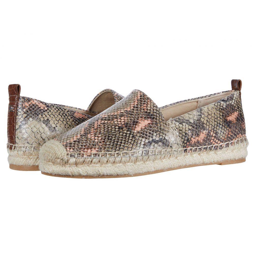 サム エデルマン Sam Edelman レディース スリッポン・フラット シューズ・靴【Khloe】Mesa Nude/Peach Fizz Exotic Snake Print Leather