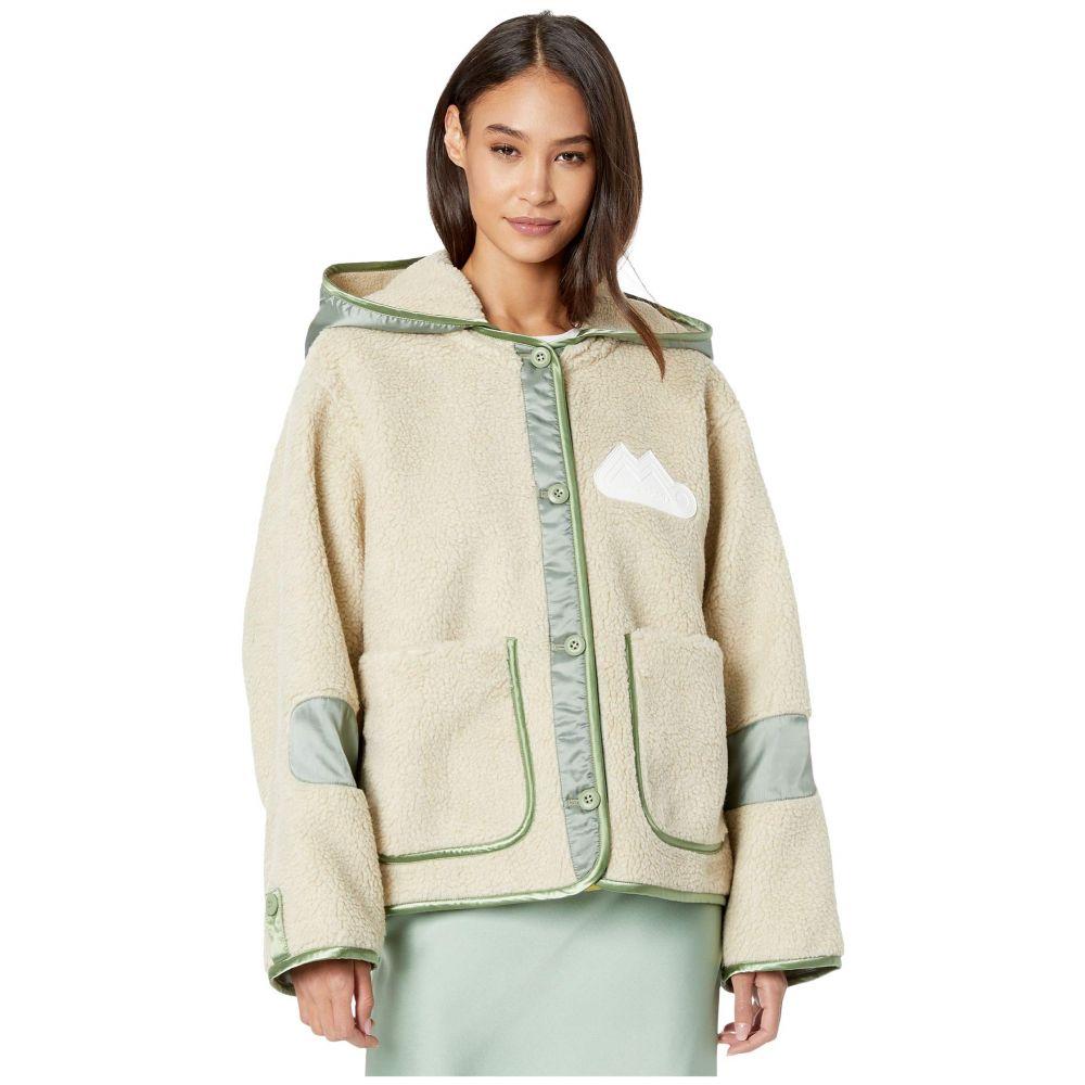 メゾン マルジェラ MM6 Maison Margiela レディース ジャケット アウター【Sherpa Big Hood Jacket】Ecru