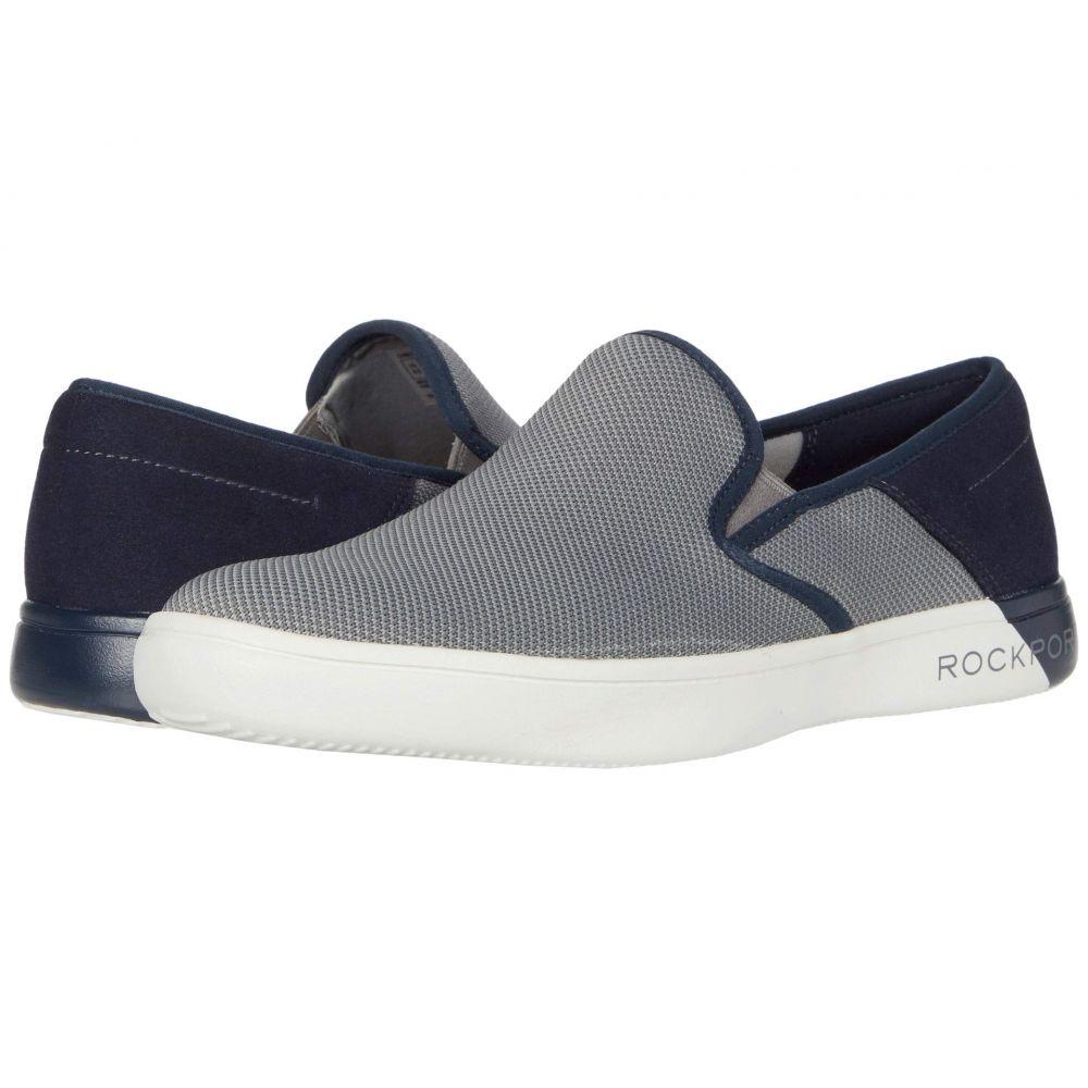 ロックポート Rockport メンズ スリッポン・フラット シューズ・靴【Colle Slip-On Mesh】Grey Multi Mesh