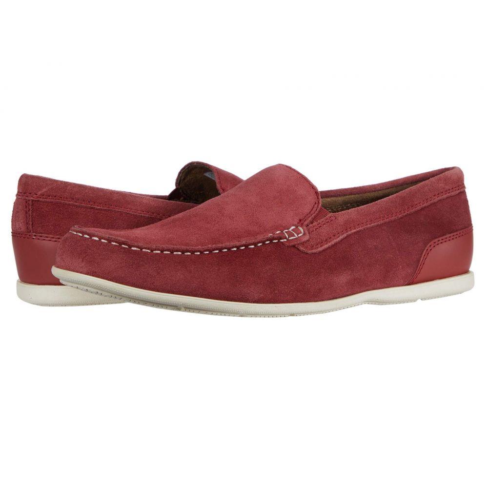 ロックポート Rockport メンズ ローファー シューズ・靴【Malcom Venetian】Ketchup Suede