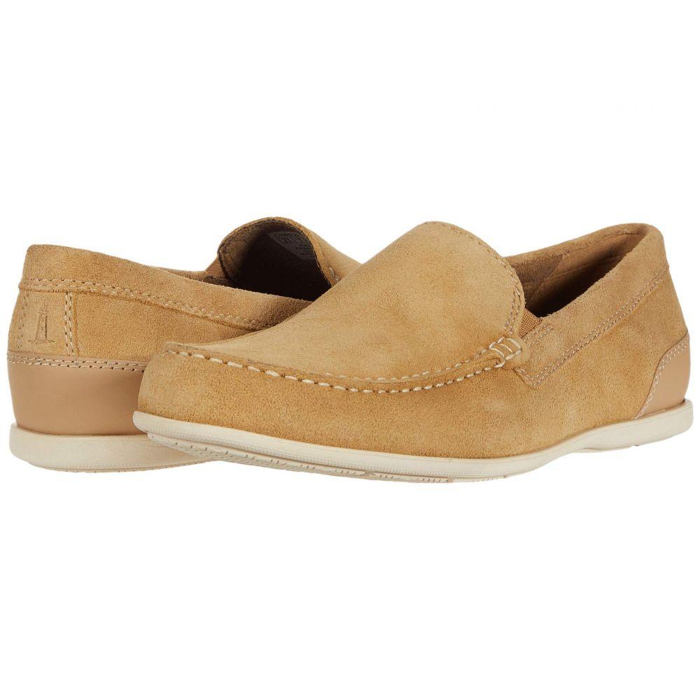 ロックポート Rockport メンズ ローファー シューズ・靴【Malcom Venetian】Tan Suede