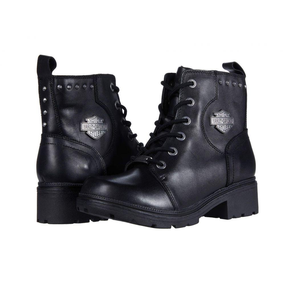 ハーレーダビッドソン Harley-Davidson レディース ブーツ シューズ・靴【Cynwood】Black