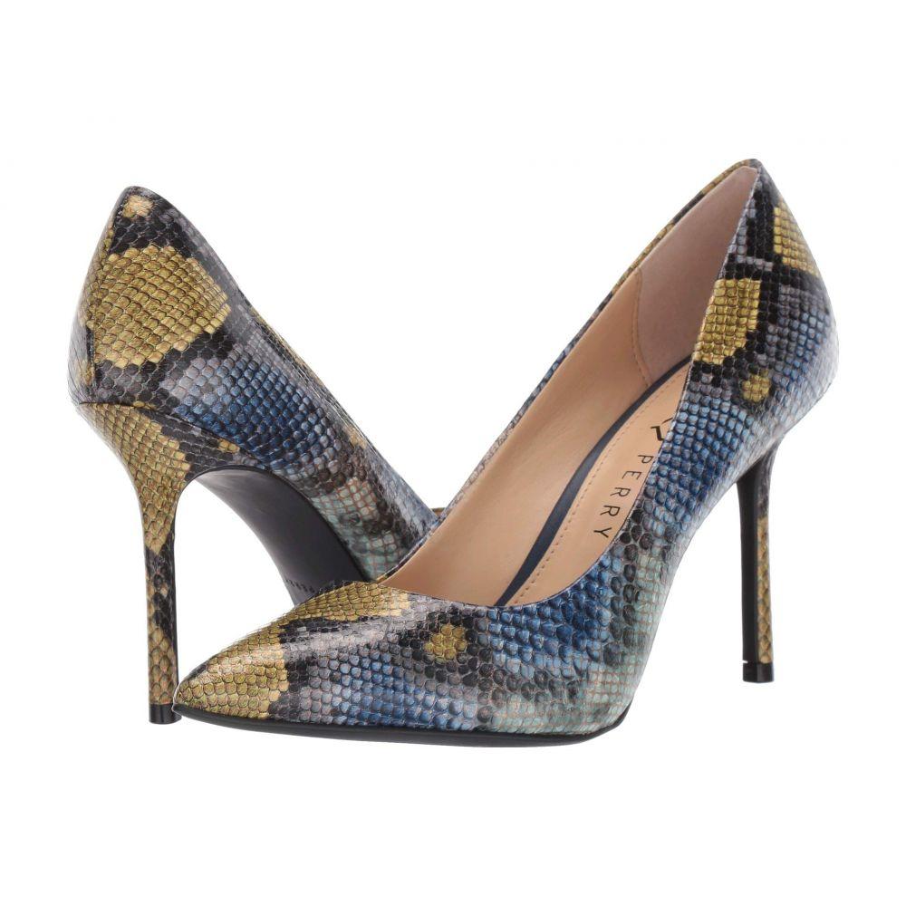 ケイティ ペリー Katy Perry レディース パンプス シューズ・靴【The Sissy】Blue Multi Pearl Snake
