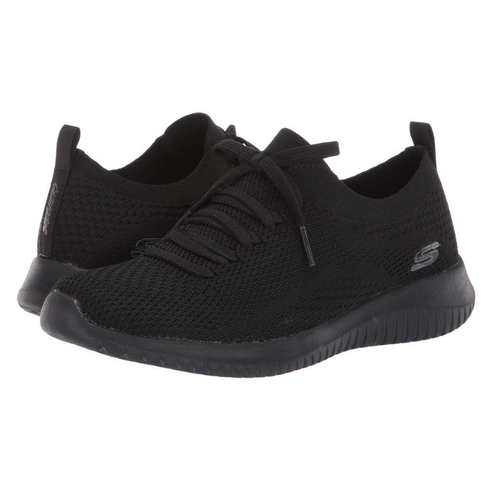 スケッチャーズ SKECHERS レディース スニーカー シューズ・靴【Ultra Flex - Statements】Black