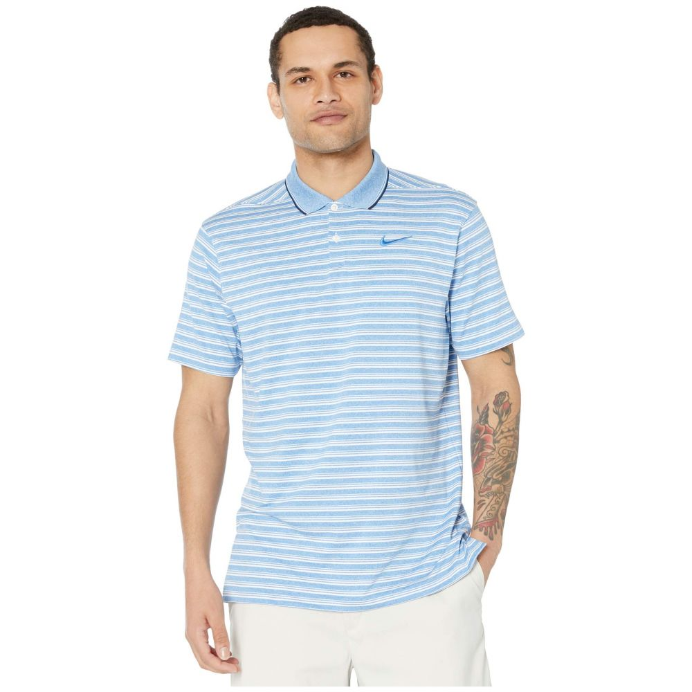 ナイキ Nike Golf メンズ ポロシャツ トップス【Dry Vapor Polo】Pacific Blue/Pure/Pacific Blue