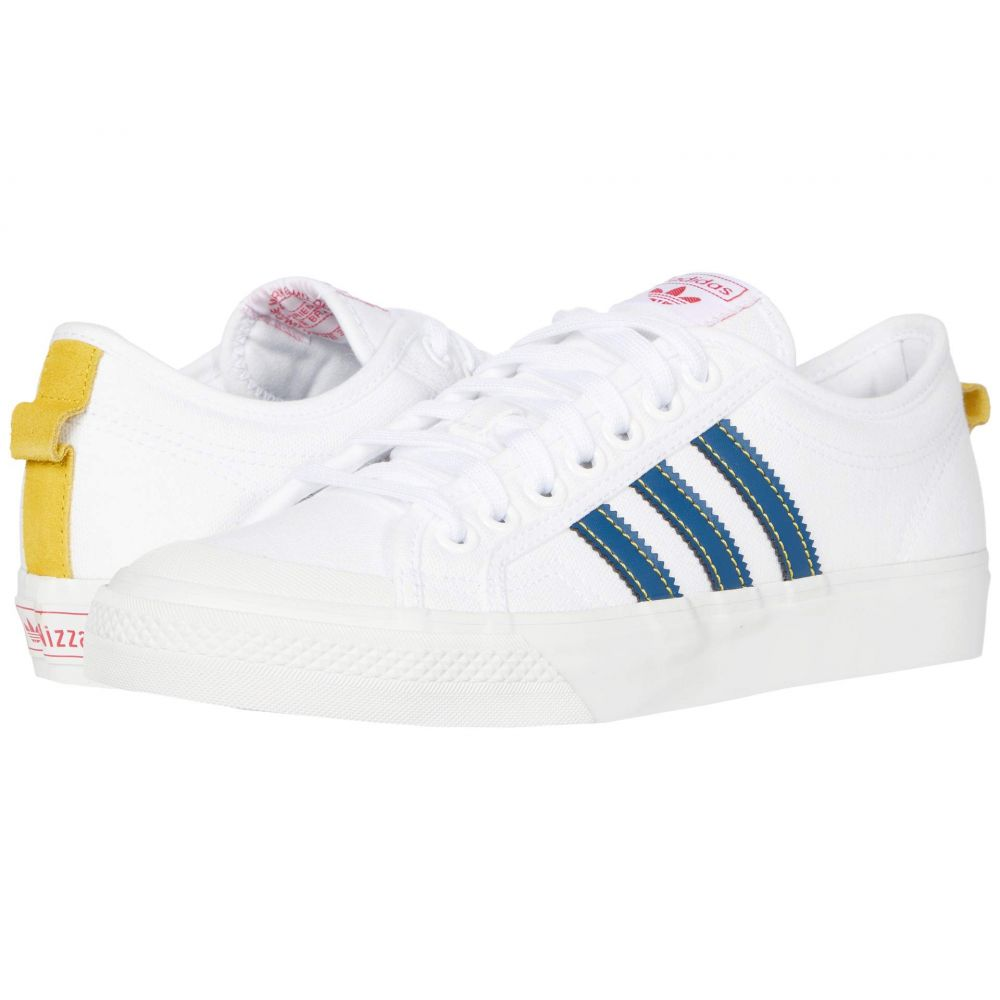 アディダス adidas Skateboarding メンズ スニーカー シューズ・靴【Nizza】Footwear White/Legend Marine/Tribe Yellow