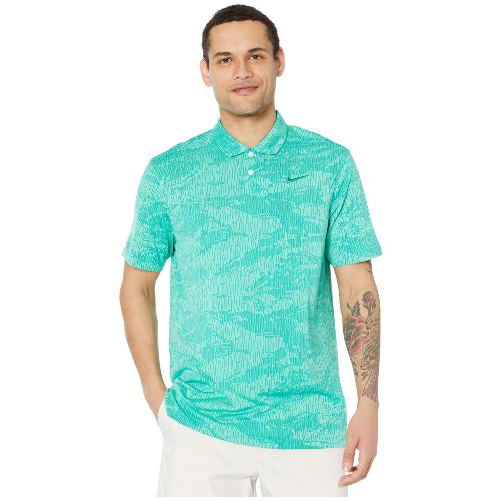 ナイキ Nike Golf メンズ ポロシャツ トップス【Dry Vapor Polo Camo Jacquard】Neptune Green/Neptune Green