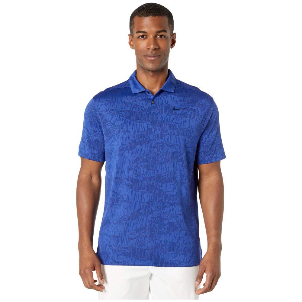 ナイキ Nike Golf メンズ ポロシャツ トップス【Dry Vapor Polo Camo Jacquard】Blue Void/Deep Royal Blue/Blue Void