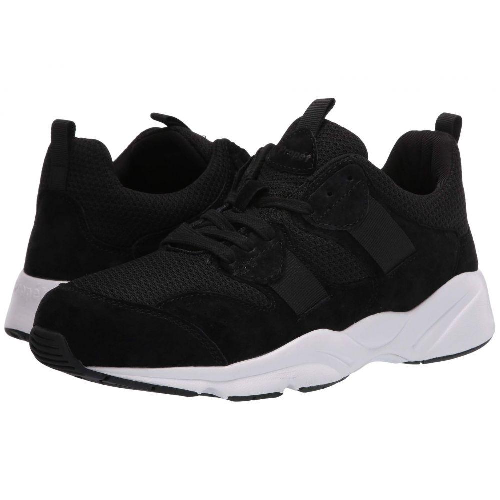 プロペット Propet メンズ スニーカー シューズ・靴【Stability Stratum】Black