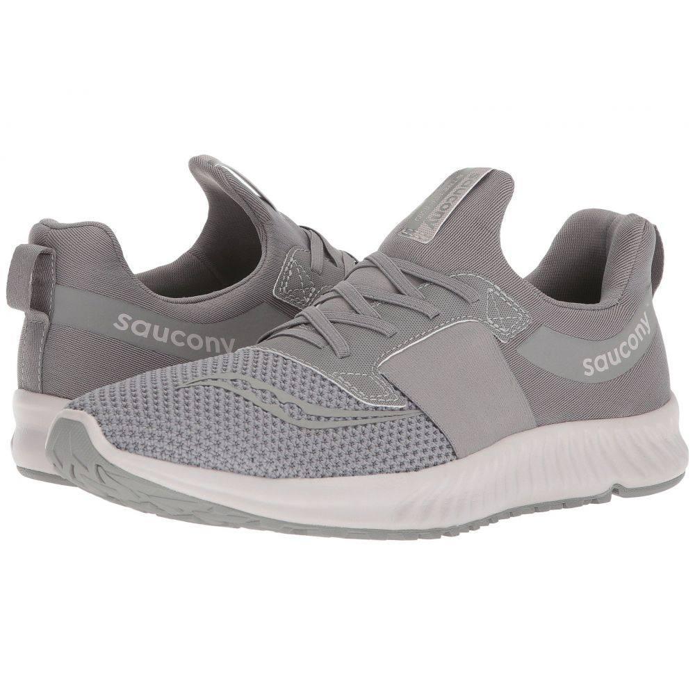 サッカニー Saucony メンズ ランニング・ウォーキング シューズ・靴【Stretch & Go Breeze】Grey