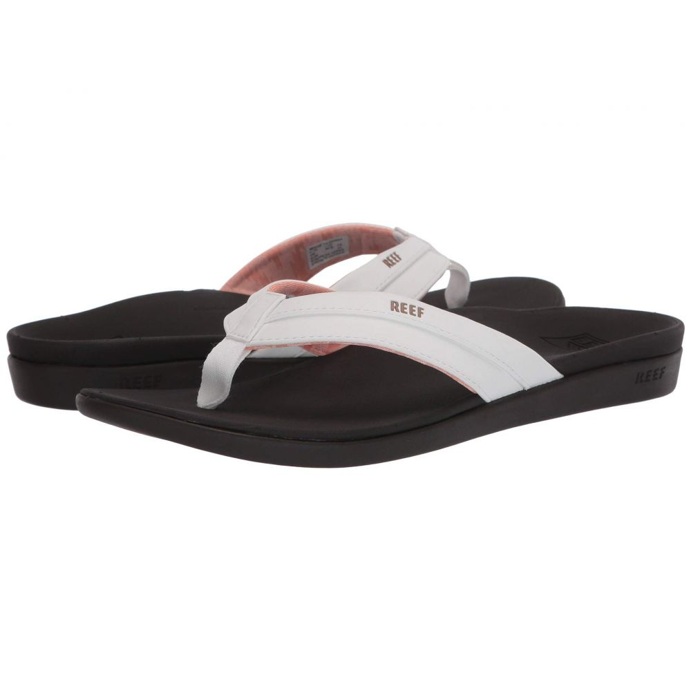 リーフ Reef レディース ビーチサンダル シューズ・靴【Ortho-Bounce Coast】Brown/White
