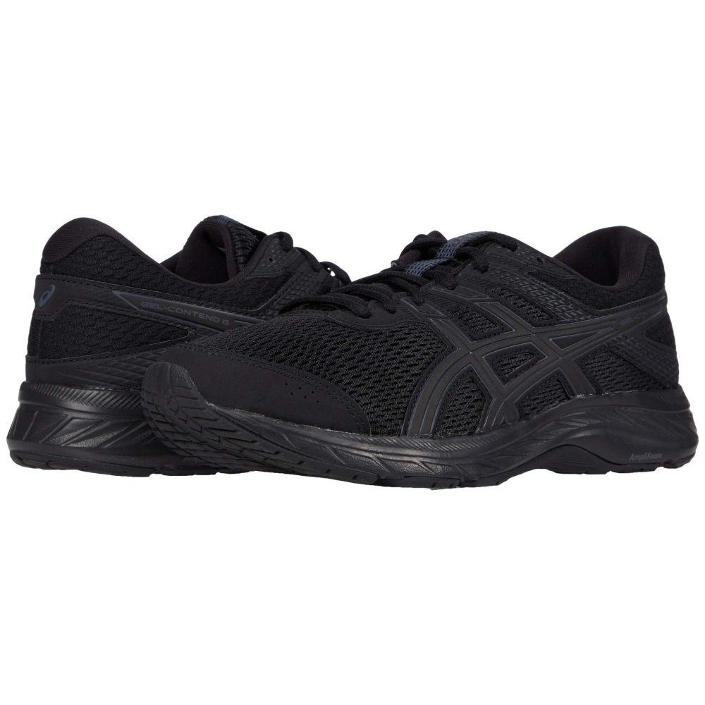 アシックス ASICS メンズ ランニング・ウォーキング シューズ・靴【GEL-Contend 6】Black/Black