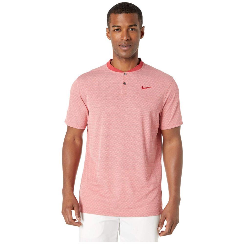 ナイキ Nike Golf メンズ ポロシャツ トップス【Dry Vapor Polo Texture Bold】Sierra Red/Pure/Sierra Red