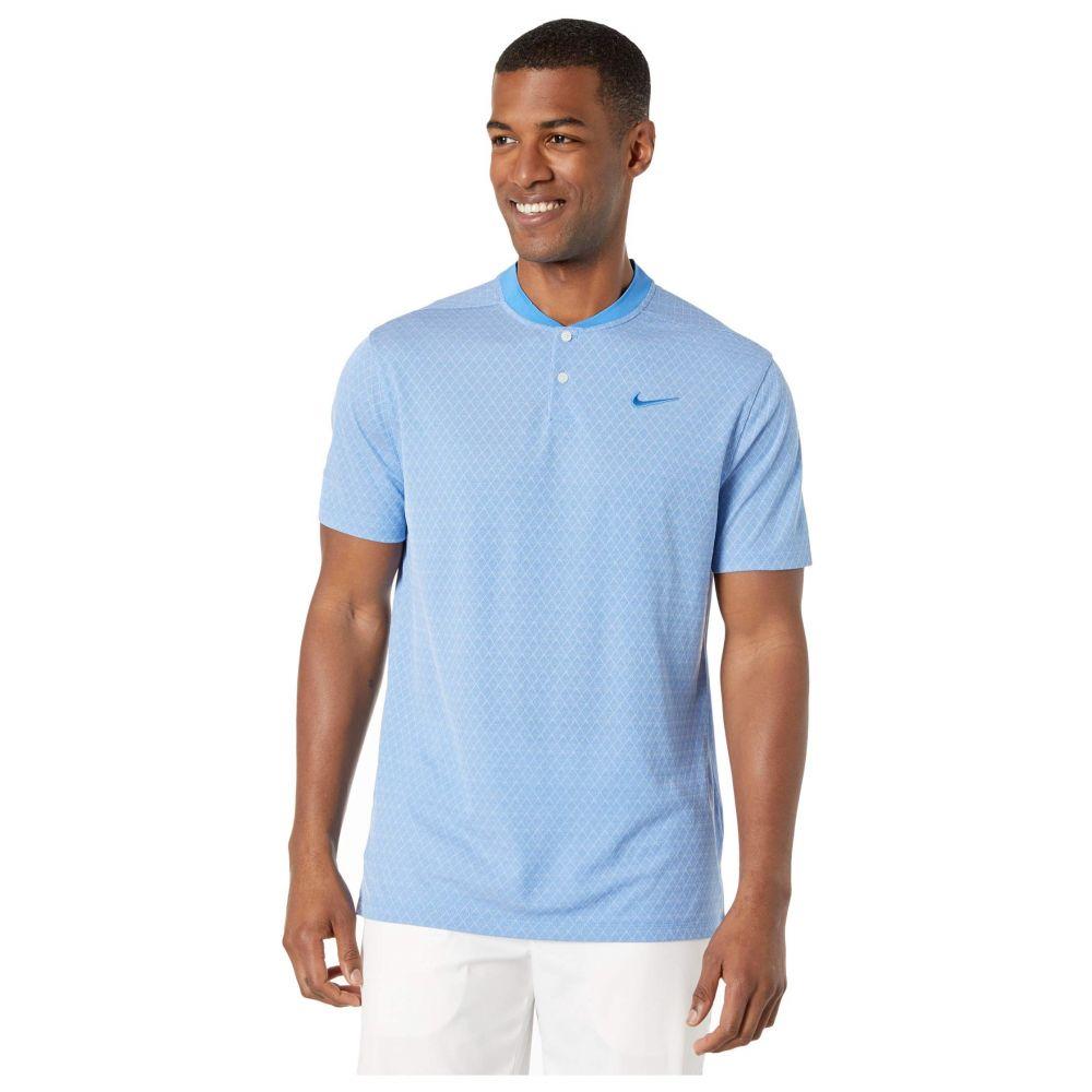 ナイキ Nike Golf メンズ ポロシャツ トップス【Dry Vapor Polo Texture Bold】Pacific Blue/Pure/Pacific Blue